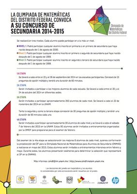 Consurso de secundaria 2014-2015