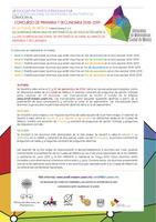 Convocatoria al concurso de primaria y secundaria 2018-2019