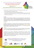 Inscripción individual Concurso Metropolitano 2018